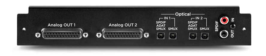 Apogee Symphony I/O modulo 16 analog OUT/16 Optical IN