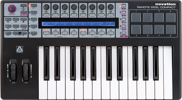 Novation ReMOTE SL 25 Compact