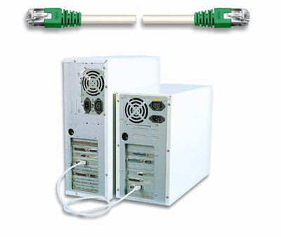 Intellinet cavo di rete Cross Over Cat 5E SSTP - 10 metri