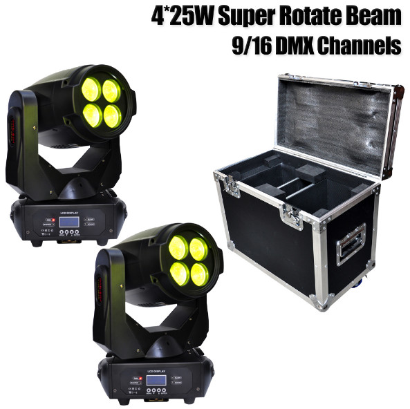 Led Super Beam 4x25W