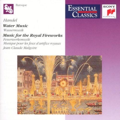WATER MUSIC - Music for the Royal Fireworks USATO MOLTO BUONO