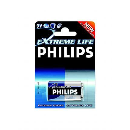 Philips Batteria 9V Life Plus