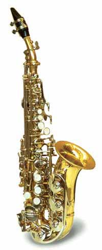 Arrow Sax Soprano Curvo ST696