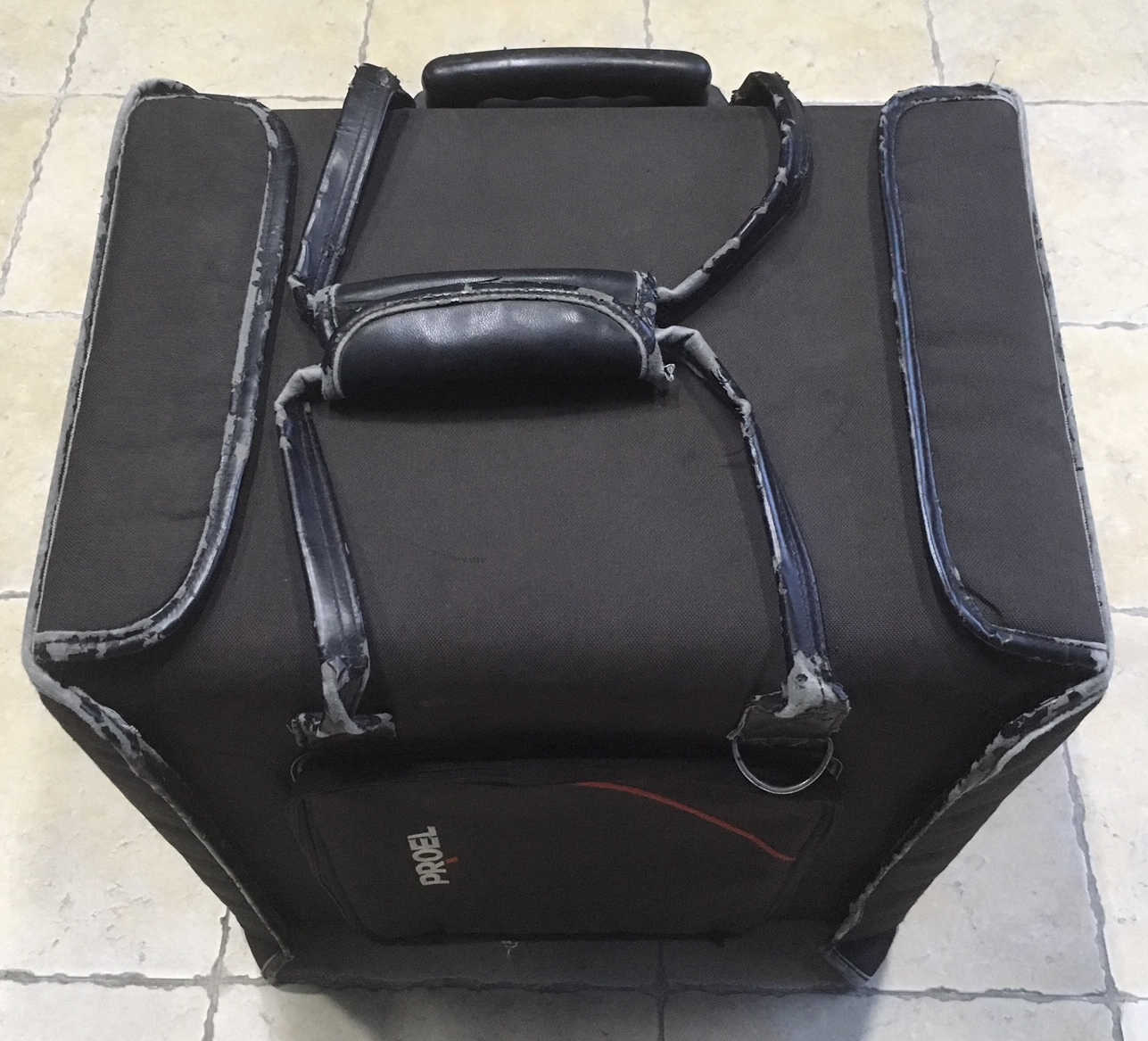 PROEL BAGCR206PW BORSA FLIGHT CASE TROLLEY PER 6 UNITÀ RACK USAT
