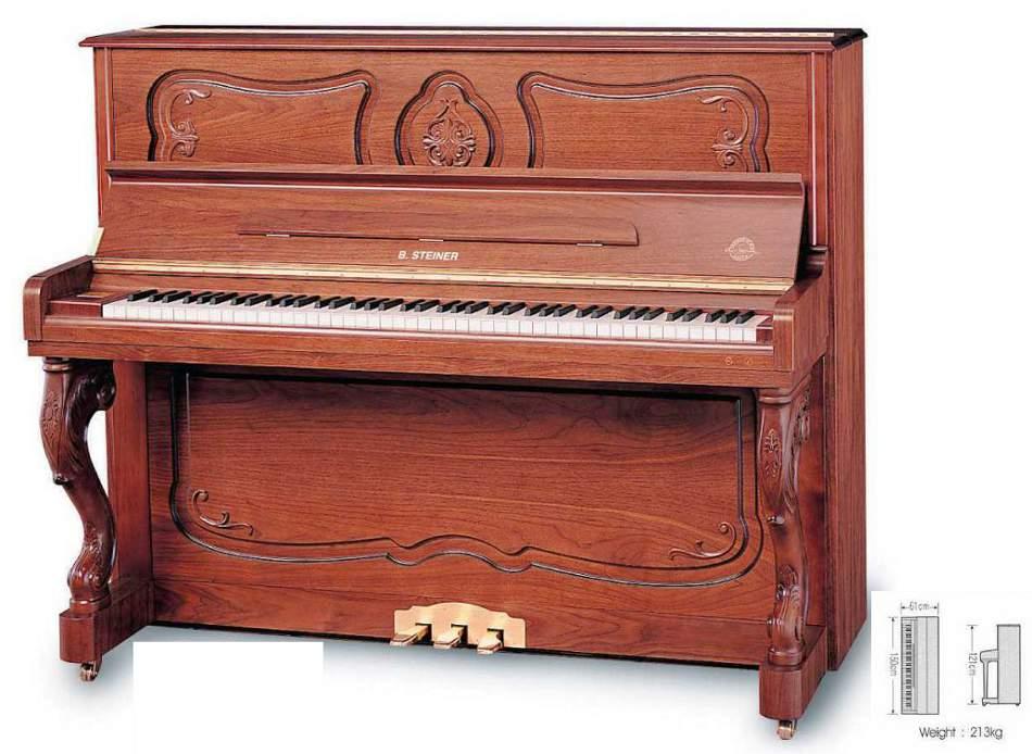 Steiner Pianoforte Verticale BSJ 615D [BSJ 615D] - 3,690.00EUR ...