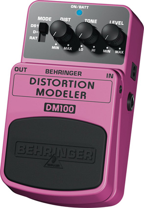 Behringer DM100 - Distorsion Modeler