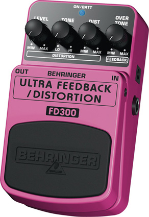 Behringer FD300 - Distorsion