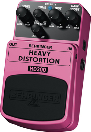 Behringer HD300 - Distorsion