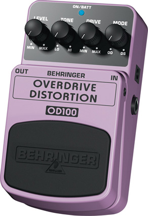 Behringer OD100 - Overdrive/Distorsion