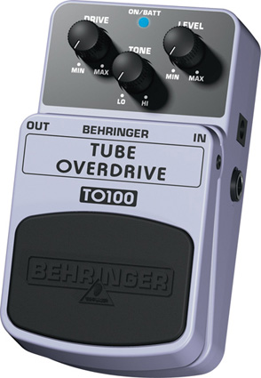 Behringer TO100 - Overdrive
