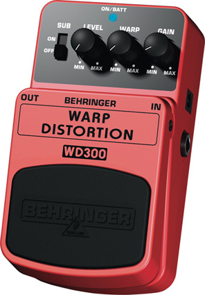 Behringer WD300 - Distorsion
