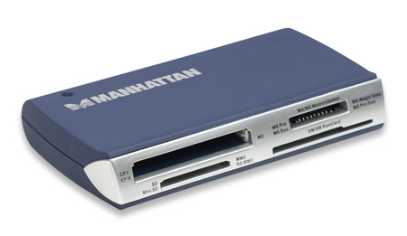 Manhattan Card Reader 63 in 1 - ESTERNO