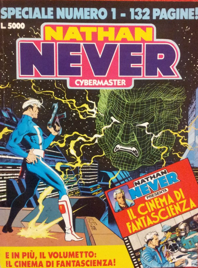 Nathan Never - Cybermaster USATO ACCETTABILE!!!