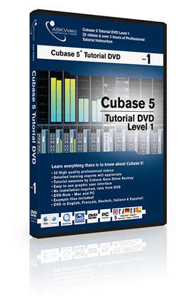 ASK Video Cubase Tutorial - Livello 1 (in italiano)
