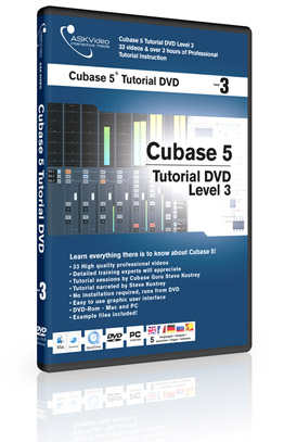 ASK Video Cubase Tutorial - Livello 3 (in italiano)