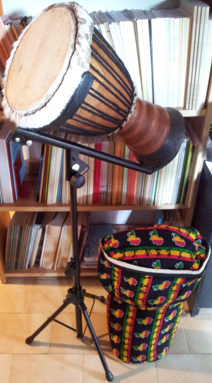 Djembe Africano Pelle Naturale