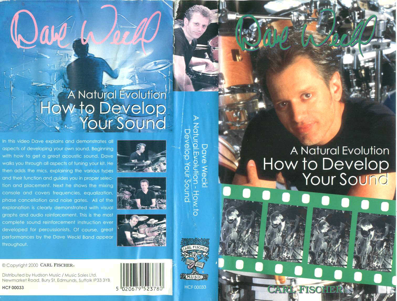 D. Weckl - How To Develop Your Sound / videocassetta VHS