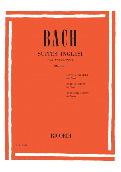BACH - Suites Inglesi
