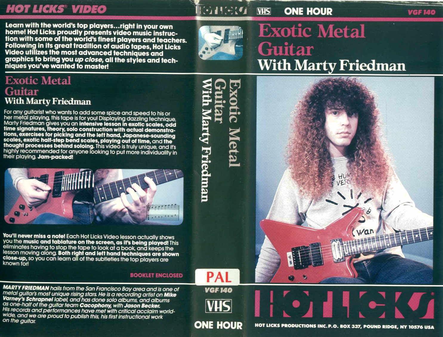 M. Friedman - Exotic Metal Guitar / videocassetta VHS