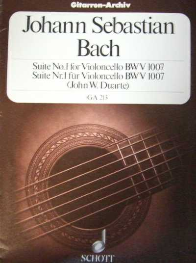 BACH - Suite n.1 BWV 1007