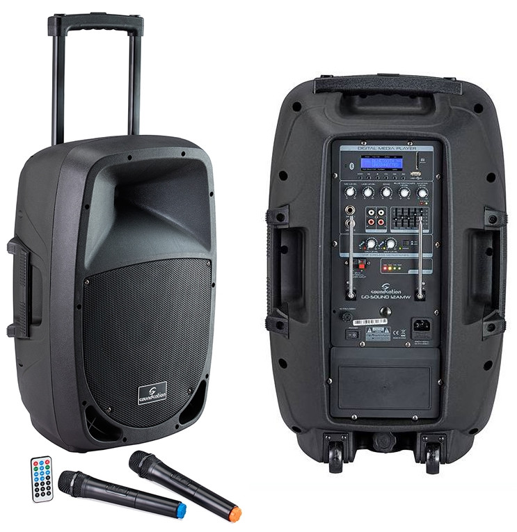 Soundsation GO-SOUND 15AMW impianto trolley portatile