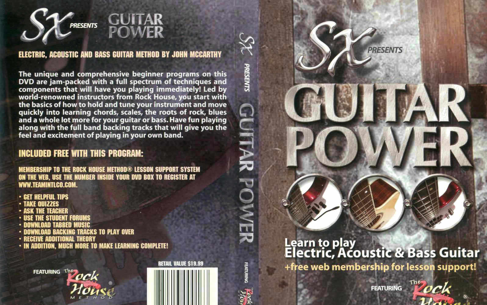 SX Guitar Power / DVD