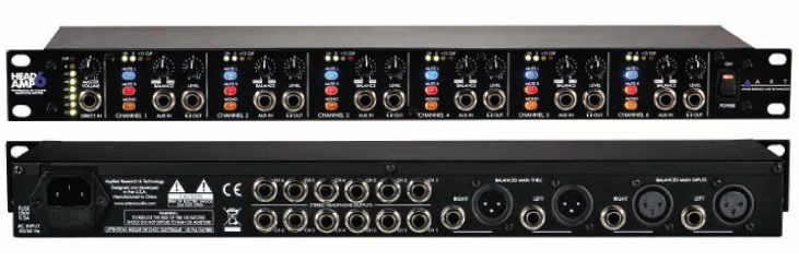 ART HeadAmp 6 - Garanzia Italiana BACKLINE