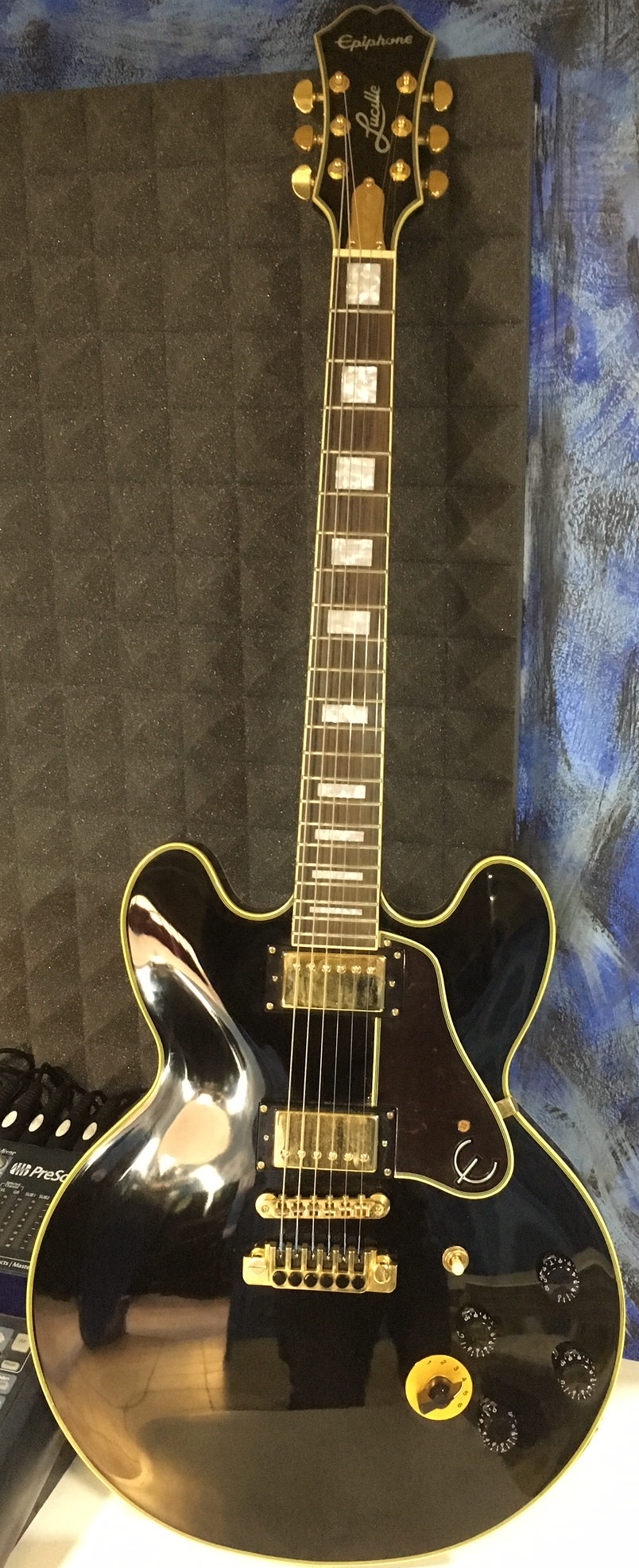 Epiphone Les Paul B.B.King Lucille black beauty USATA