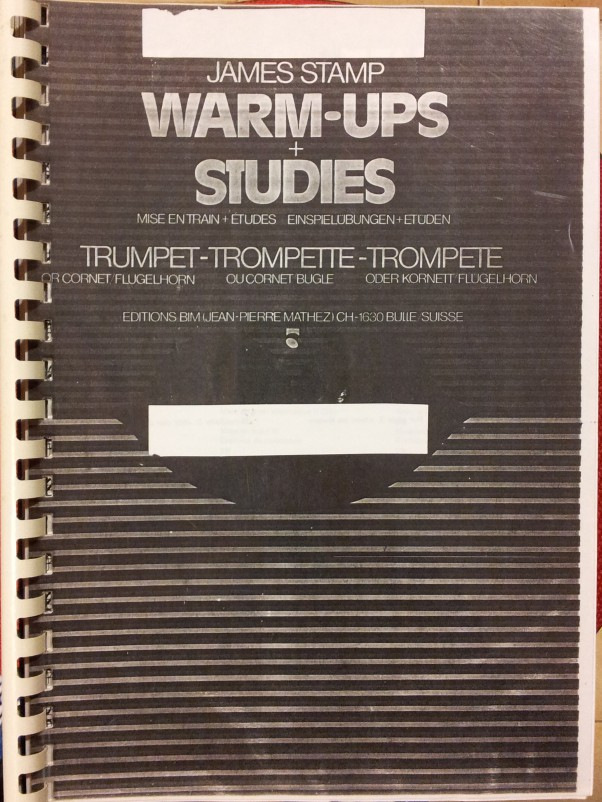 James Stamp - Warm-Ups and Studies (Trompete) USATO