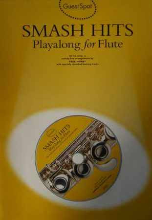 AAVV - Smash Hits Playalong for Flute (Include CD)