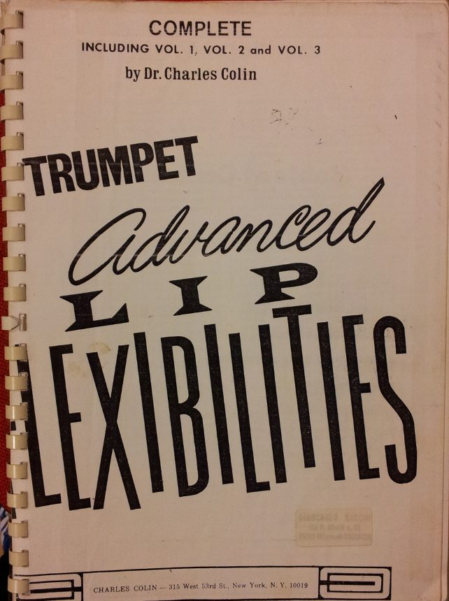 Advanced Lip Flexibilities for Trumpet Vol.1,2,3 USATO