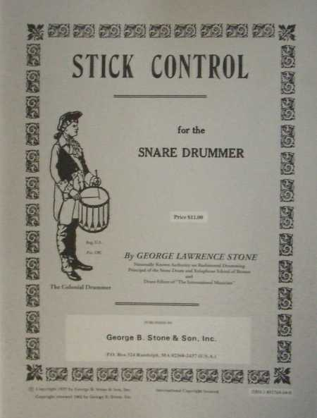 STONE - Stick Control for the Snare Drummer