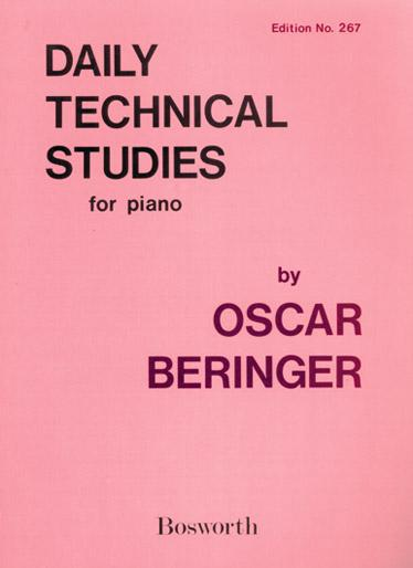 BERINGER - Daily Technical Studies For Piano