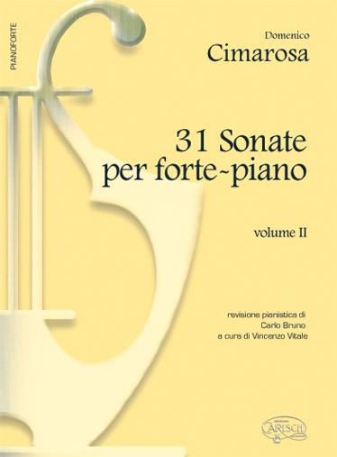 CIMAROSA - 31 Sonate per pianoforte Vol. 2