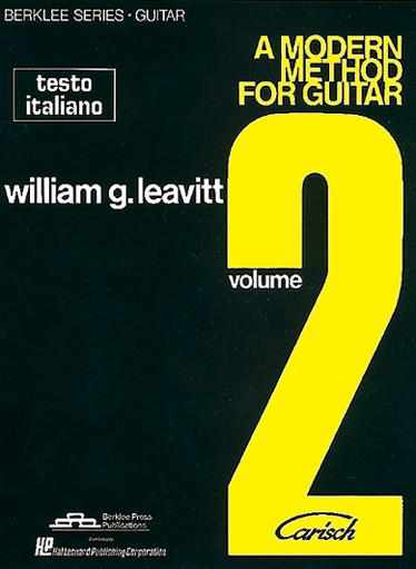 LEAVITT - A Modern Method For Guitar. Volume 2