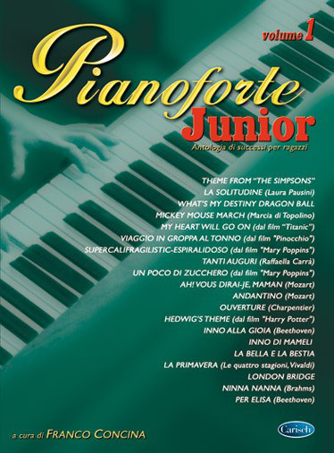 CONCINA - Pianoforte Junior Volume 1