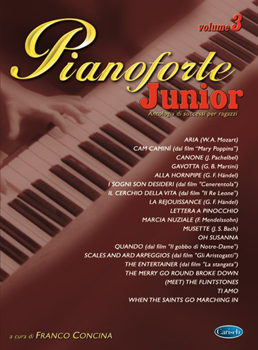 CONCINA - Pianoforte Junior Volume 3