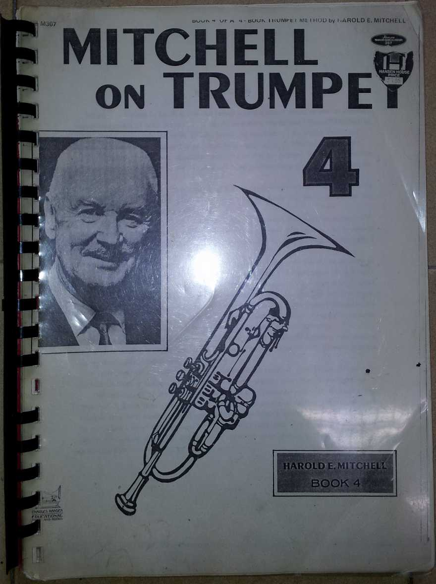 Harold Mitchell Trumpet Method - Book 4 USATO!!