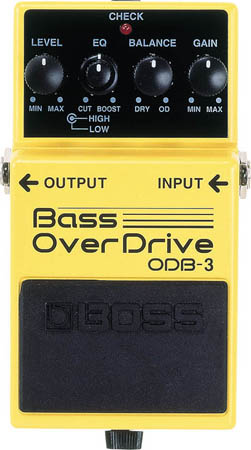 Boss ODB-3 Distorsion