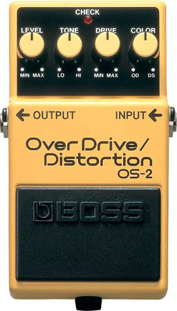 Boss OS-2 Distorsion