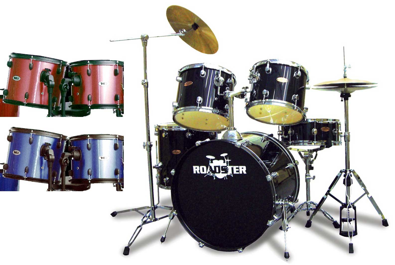 Roadster Highway - Batteria Completa