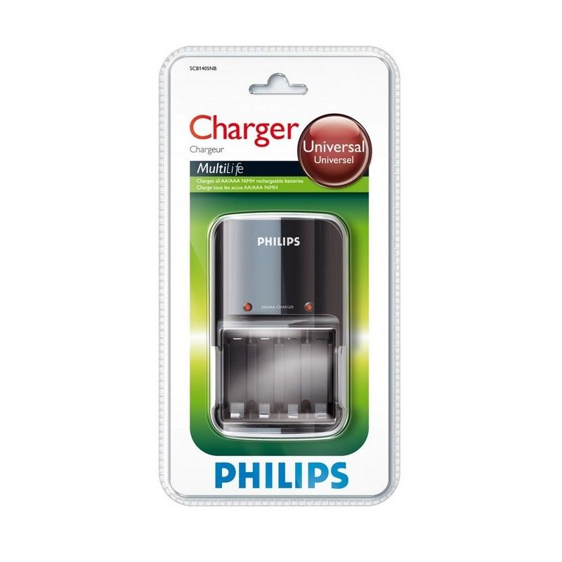 Philips Caricatore per Batterie AA e AAA