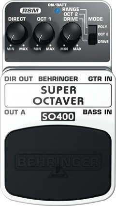 Behringer SO400 - Octaver