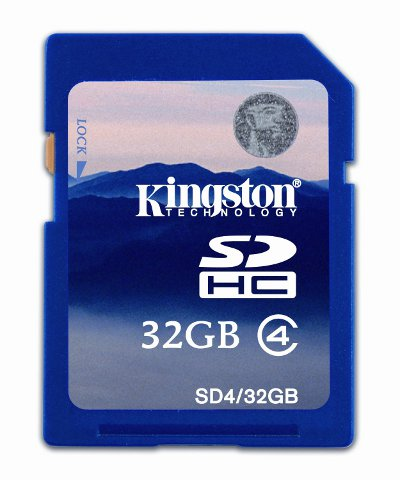 Scheda SD 32 GB Classe 4 - Kingston