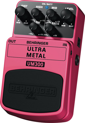 Behringer UM300 - Distorsion