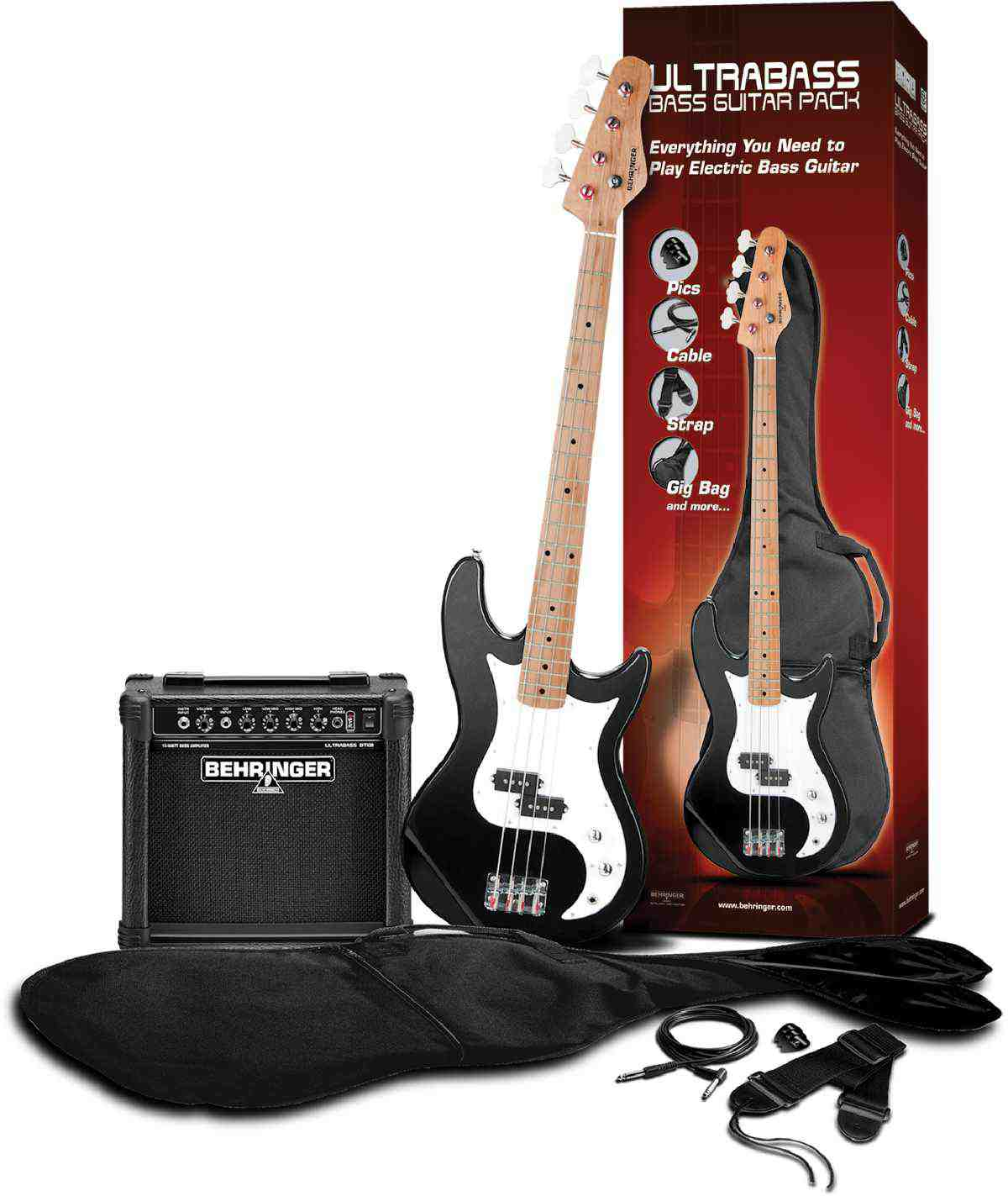 BASS GUITAR PACK BT108BPK