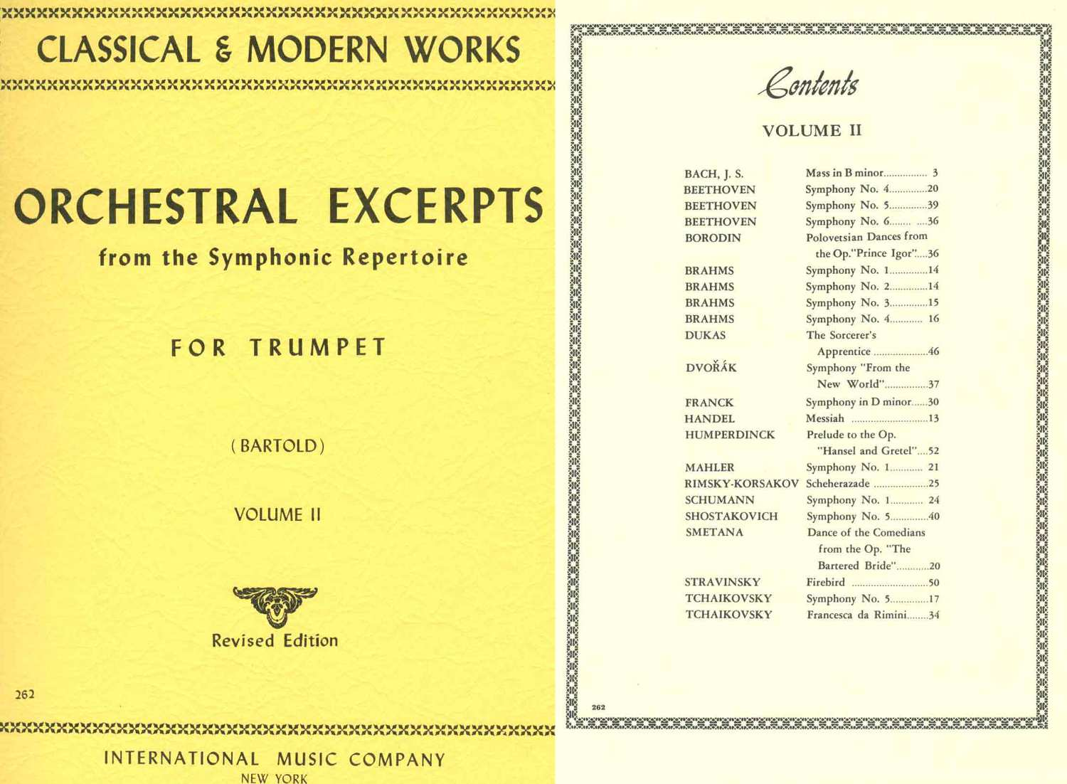 AA. VV. - Orchestral Excerpts For Trumpet Volume 2