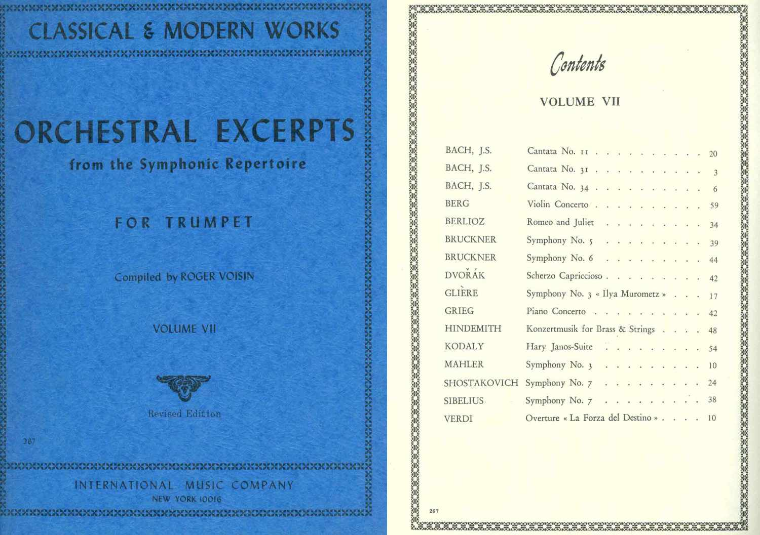 AA. VV. - Orchestral Excerpts For Trumpet Volume 7