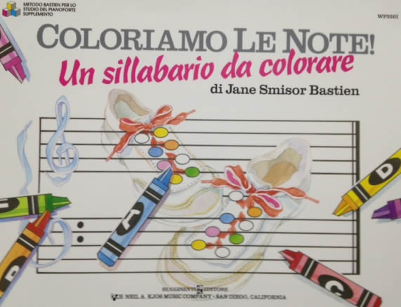 BASTIEN - Coloriamo le Note - Supplemento al Metodo