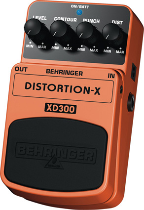 Behringer XD300 - Distorsion